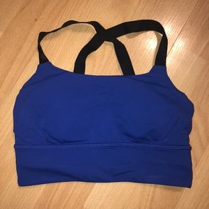 LULULEMON • Blue Adjust Me Bra - 4